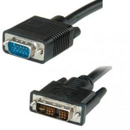 CABLE VGA (1)PLUG  (1)PLUG DVI   1.80 MTS