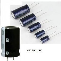 CONDENSADOR ELECTROLITICO    330.00 MF *    50 VOLT