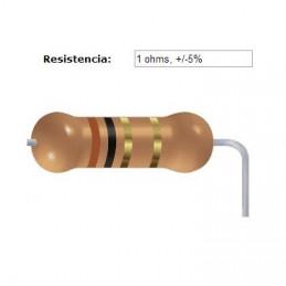 RESISTENCIA CARBON      0.47 OHMS  1    WATT