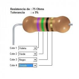 RESISTENCIA CARBON     56.00 OHMS  2    WATT