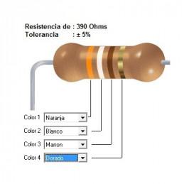 RESISTENCIA CARBON    220.00 OHMS  2    WATT