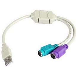 CABLE USB (1)PLUG   (2)JACK PS2                        2.366