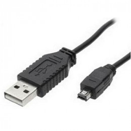 CABLE USB (1)PLUG   (1)PLUG USB/B MINI 4 PIN (MP4) 1.5 MTS.