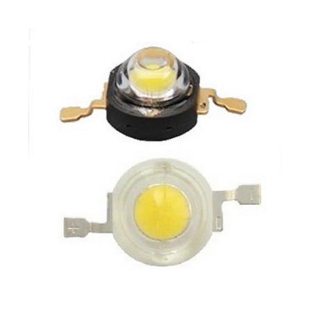 LED 1 W 350 MA 2.0-2.4V  30- 40 LM 620/625NM            ROJO