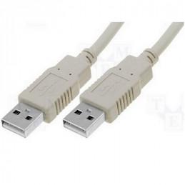CABLE USB (1)PLUG   (1)PLUG USB/A        1.80 MTS.