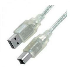 CABLE USB (1)PLUG   (1)PLUG USB/B        1.80 MTS.
