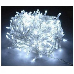 LUCES NAVIDAD  20 LED FIG. ESTRELLA COLOR BLANCA