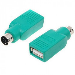 ADAPTADOR PS2 (1)PLUG   (1)JACK USB/A 6 PIN