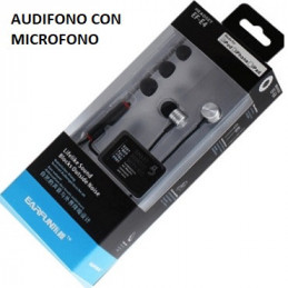 AUDIFONO PLUG 3.5 MM. EAR...