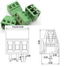 TERMINAL PCB 3 PIN PASO...