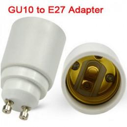 ADAPTADOR GU1O A E27
