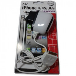 CARGADOR IPOD 12V - 5V/2AMP 2 USB (1*1.2 AMP)(2*0.6 AMP)