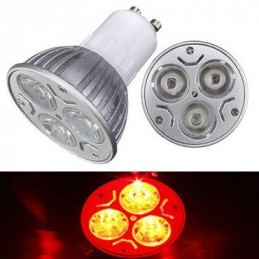 AMPOLL. 220.0 V.   7.00 WATT  E-27  LED BLANCO CALIDO 48 LED