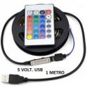 CINTA LED  1.00 MTS 220 VOLT  60LED/MTS SMD 5050 BLA CALIDO