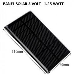 PANEL SOLAR  1.25 WATT...