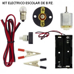 KIT ELECTRICO ESCOLAR 8 PZ.