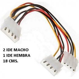 CABLE IDE  (2)IDE MACHO...