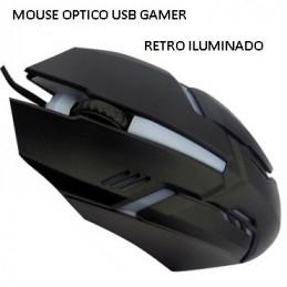 MOUSE OPTICO USB GAMER...