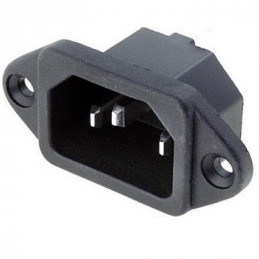 ENCHUFE HEMBRA VOLANTE 3 PIN  6 AMP. (PC)