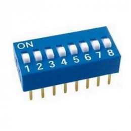 DIP SWITCH  3 PUNTOS  6 PINES