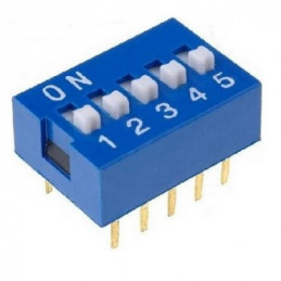 DIP SWITCH  8 PUNTOS 16 PINES