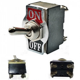 SWITCH TOGGLE ON-OFF-   125 V. 3A   2 PATAS              983