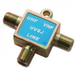 MEZCLADOR UHF/VHF (3)JACK...