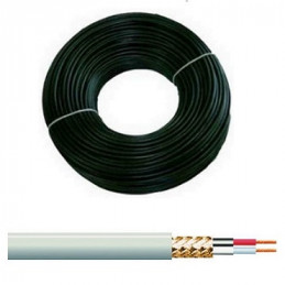 CABLE METRO BLINDADO 02 CONDUCTOR 04.00 MM.