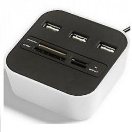 HUB USB 1 * 3 PUERTOS 2.0...