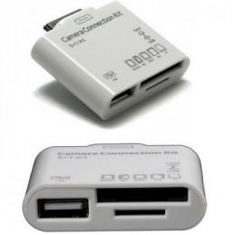 LECTOR DE TARJETAS PARA GALAXY TAB OTG USB 2.0       106.644