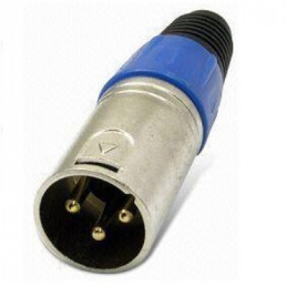 CABLE 6.3 (1)PLUG  (1)JACK XLR 3 PIN  5.00 MTS. MONO   4.027