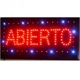 LETRERO LED ' ABIERTO '...