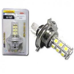 AMPOLL.  12.0 V. T-10      4 LED AZUL/BLANCO           6.125