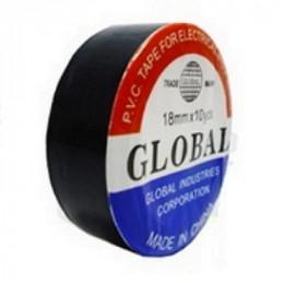 CINTA AISLADORA 10 MTS. NEGRA COLORES GLOBAL         107.304
