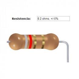 RESISTENCIA CARBON      7.50 OHMS  0.50 WATT