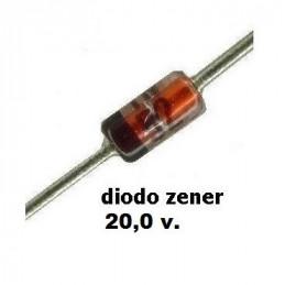 DIODO ZENER 1N-4746A  18.0 V.  1.00 WATT  DO-41