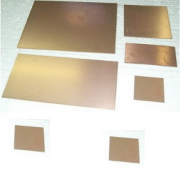 PLACA PERTINAX   5 X   5   1.6MM.